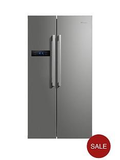swan-sr70120snbsp90cm-american-style-double-door-fridge-freezer-silver