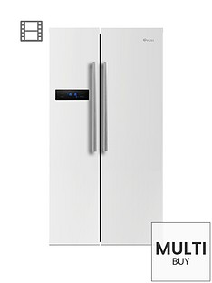 swan-sr70120wnbsp90cm-american-style-double-door-fridge-freezer-white