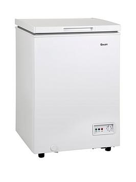 Swan Sr4150W 95-Litre Chest Freezer - White