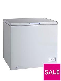 Swan 192-Litre Chest Freezer - White
