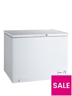 swan-282-litre-chest-freezer-white