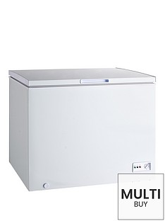 swan-282-litre-chest-freezer-white