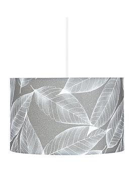 leaf-stencil-easy-fit-lamp-shade