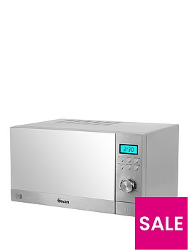 swan-sm22120nbsp23-litre-digital-microwave-silver-with-mirror-door