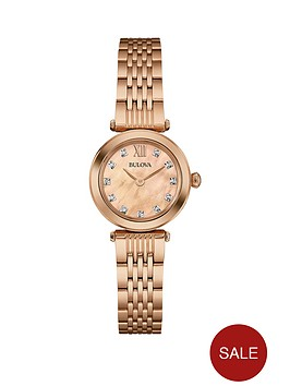 bulova-rose-dial-stainless-steel-bracelet-ladies-watch