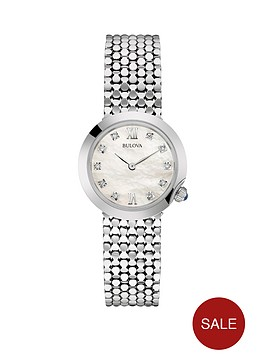 bulova-white-dial-stainless-steel-bracelet-ladies-watch