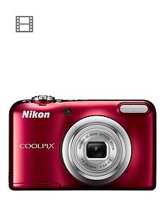 nikon-coolpixnbspa10nbspcamera-red