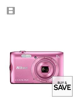 nikon-coolpix-a300-pink