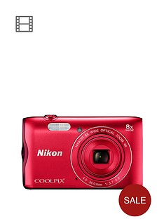 nikon-coolpix-a300-red
