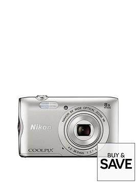 nikon-coolpix-a300-silver