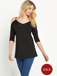 v-by-very-lace-cut-out-34-sleeve-top