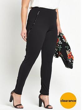 v-by-very-curve-pu-detail-ponte-legging-black