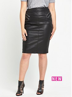 so-fabulous-coated-zip-front-skirt
