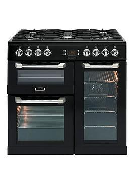 Leisure Cs90F530K Cuisinemaster 90Cm Dual Fuel Range Cooker - Black