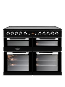 Leisure Cs100C510K Cuisinemaster 100Cm Electric Range Cooker With Ceramic Hob And Optional Connection &Ndash; Black - Cooker Only Best Price, Cheapest Prices