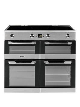 Leisure Cs100D510X Cuisinemaster 100Cm Electric Range Cooker With Induction Hob And Optional Connection - Stainless Steel - Cooker With Connection Best Price, Cheapest Prices