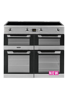 leisure-cs100d510x-cuisinemaster-100cm-electric-range-cooker-with-induction-hob-stainless-steel