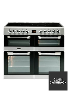 leisure-cs100c510x-cuisinemaster-100cm-electric-range-cooker-with-ceramic-hob-and-optional-connection-stainless-steel