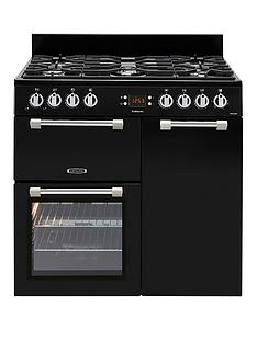 leisure-ck90g232k-cookmaster-90cm-gas-range-cooker-with-electric-fan-oven-and-optional-connection-black