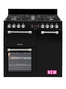 leisure-ck90g232k-cookmaster-90cm-gas-range-cooker-with-electric-fan-oven-black