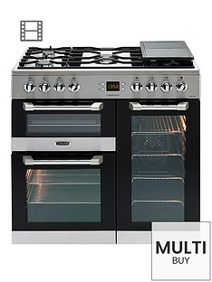 leisure-cs90f530x-cuisinemaster-90cm-dual-fuel-range-cooker-with-connection-stainless-steel