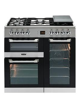 Leisure Cs90F530X Cuisinemaster 90Cm Dual Fuel Range Cooker With Connection - Stainless Steel - Cooker Only Best Price, Cheapest Prices