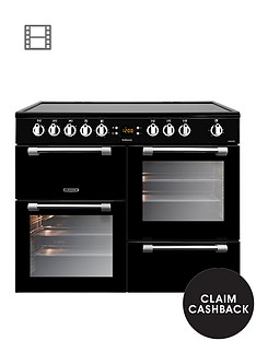 leisure-ck100c210k-cookmaster-100cm-electric-range-cooker-with-ceramic-hob-and-optional-connection-black