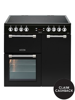 leisure-ck90c230k-cookmaster-90cm-electric-range-cooker-with-ceramic-hob-and-optional-connection-black