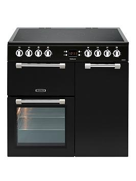 Image of Leisure Ck90C230K Cookmaster 90Cm Electric Range Cooker With Ceramic Hob - Cooker Only