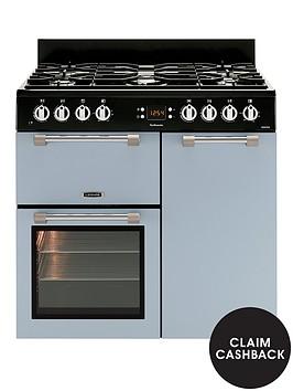 leisure-ck90f232b-cookmaster-90cm-dual-fuel-range-cooker-blue