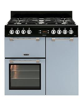 Leisure Ck90F232B Cookmaster 90Cm Dual Fuel Range Cooker - Blue Best Price, Cheapest Prices