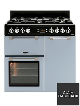 leisure-ck90f232b-cookmaster-90cm-dual-fuel-range-cooker-with-connection-blue