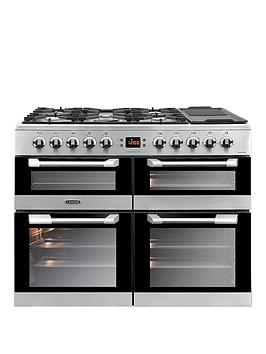 Leisure Cs100F520X Cusinemaster 100 100Cm Dual Fuel Range Cooker - Stainless Steel Best Price, Cheapest Prices