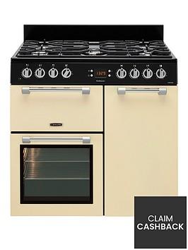 leisure-ck90f232c-cookmaster-90cm-wide-dual-fuel-range-cooker-cream