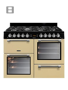 Leisure CK100G232C Cookmaster 100 100cm Gas Range Cooker with optional Connection- Cream
