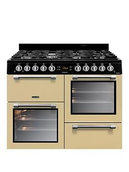leisure-ck100g232c-cookmaster-100-100cm-gas-range-cooker-with-optional-connectionnbsp--creamnbsp