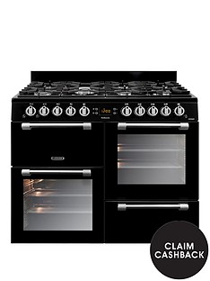 leisure-ck100g232k-cookmaster-100-100cm-gas-range-cooker-black