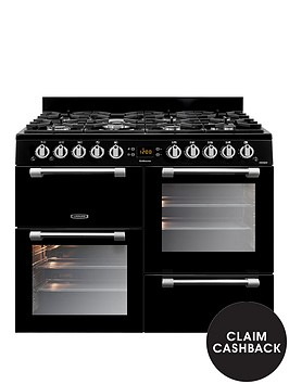 leisure-ck100g232k-cookmaster-100cm-gas-range-cooker-with-optional-connection-black