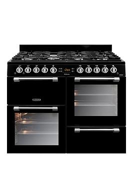 Leisure Ck100G232K Cookmaster 100 100Cm Gas Range Cooker - Black Best Price, Cheapest Prices