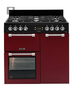 leisure-ck90f232r-cookmaster-90cm-dual-fuel-range-cooker-red