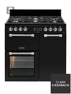leisure-ck90f232k-cookmaster-90cm-dual-fuel-range-cooker-black