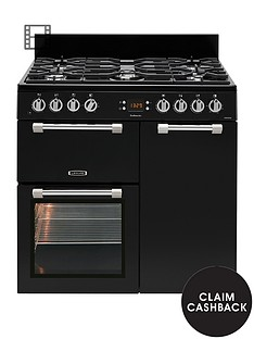 leisure-ck90f232k-cookmaster-90cm-dual-fuel-range-cooker-with-optional-connection-black