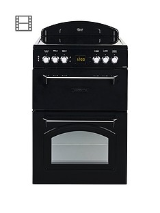 leisure-cla60cek-60cm-electric-classic-range-style-cooker-black
