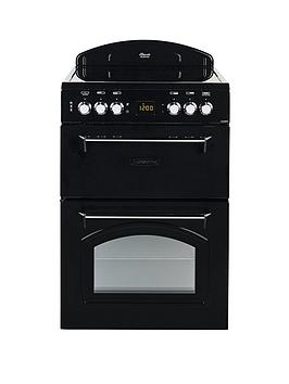 leisure-cla60cek-60cm-electric-classic-mini-range-cooker-with-connection-black