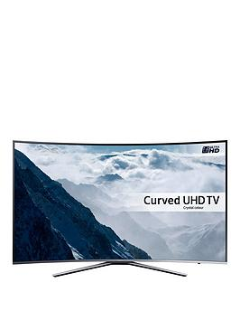 Samsung Ue55Ku6500 55 Inch Freeview Hd, Led Smart Ultra Hd Curved Tv