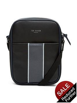 ted-baker-striped-webbing-flight-bag