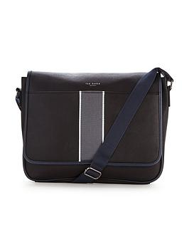 ted-baker-striped-webbing-messenger-bag