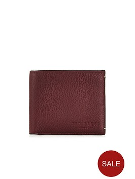 ted-baker-oxblood-bifold-wallet