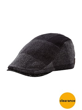 ted-baker-checked-flat-cap