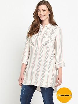 v-by-very-curve-lightweight-button-through-shirt